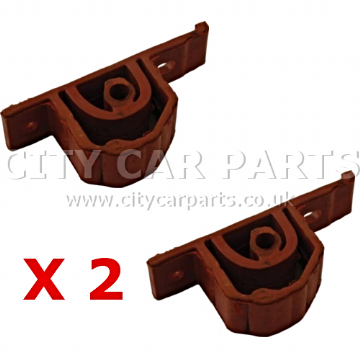 2 X BMW MINI CONVERTIBLE & HATCH EXHAUST RUBBER MOUNT HANGER MOUNTING